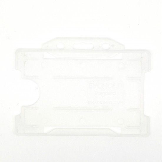 Evohold® Antimicrobial Single Sided Badge Holder - Horizontal (Pack of 100)