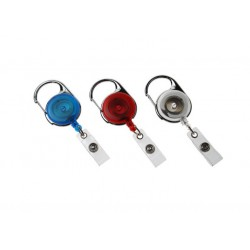 Carabiner Reel with Strap Clip (Pack of 100)