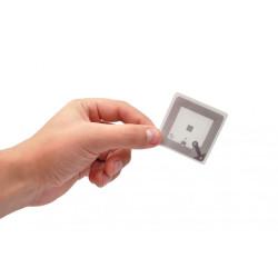 ATA5577 (T5577) White Paper Adhesive Label - Square 45x45mm