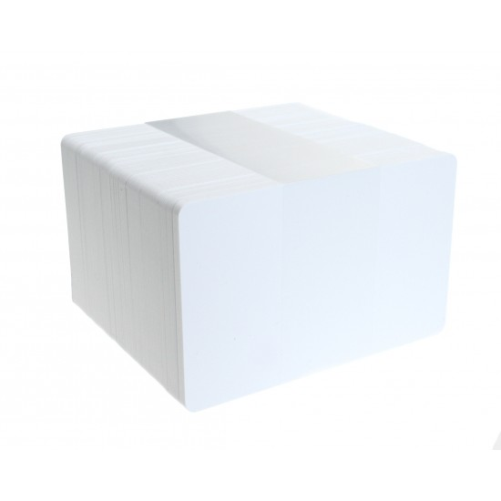 High Grade White PVC Cards - 810 Thickness (Pack of 100)