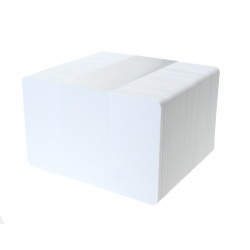 MIFARE® DESFire® EV3 2k White PVC Card, Gloss Finish