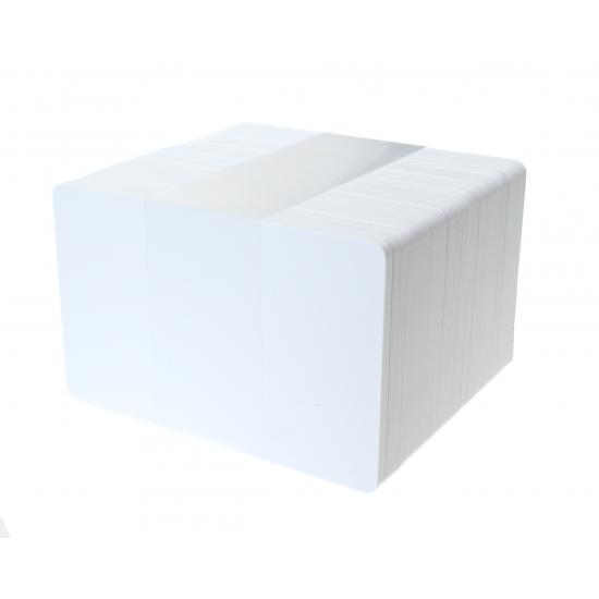 MIFARE Classic®  EV1 1K PVC Blank White Antimicrobial Card
