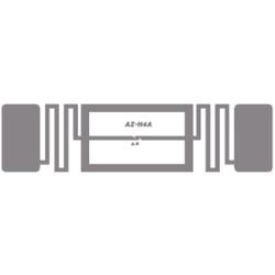 Impinj Monza 4QT Non-Metal Adhesive Paper Label (AZ-H4A), 21.5 x 75mm - 9.8m read range