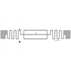 Impinj Monza 4QT Non-Metal Adhesive Paper Label (AZ-U42), 10 x 96mm - 6.5m read range