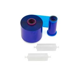 Zebra 800077-714EM Blue Monochrome Ribbon (5,000 Prints)