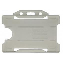 Evohold® Compostable Horizontal Single Sided Badge Holder (Pack of 100)