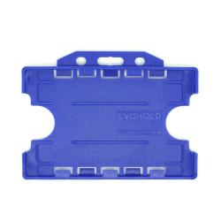 Evohold® Metal Detectable Double Sided Badge Holder - Horizontal (Pack of 100)