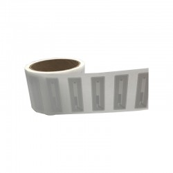 NTAG 213 White Paper Adhesive Label - Rectangular 25x40mm