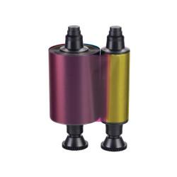 Evolis R3411 YMCKO Colour Printer Ribbon for Tattoo (100 Prints)
