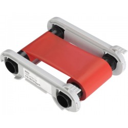 Evolis RCT013NAA Red Monochrome Printer Ribbon (1000 Prints)