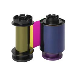 Evolis RT4F010EAA YMCK Retransfer Colour Ribbon (500 Prints)