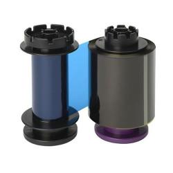 Evolis RT5F011EAA YMCKK Retransfer Colour Ribbon (400 Prints)