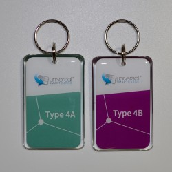 Infineon® SECORA™ Pay W - NFC Type 4 Tag Reference Fobs